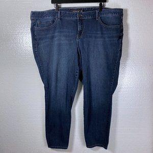 Torrid Size 26 R Dark Wash Skinny Stretch Jeans
